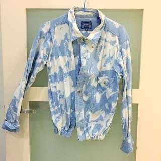 👔日本古著特別刷色襯衫外套