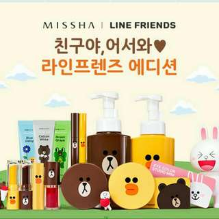 MISSHA/LINE FRIEND 聯名氣墊粉餅