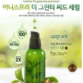 Innisfree綠茶保濕精華液