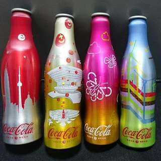 Coca-Cola Bottles from Expo 2010 Shanghai China
