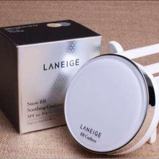 LANEIGE蘭芝 鑽采升級BB舒芙蕾水凝霜氣墊粉餅(15gx2)