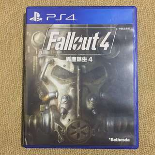 Preowned PS4 Fallout 4 Game