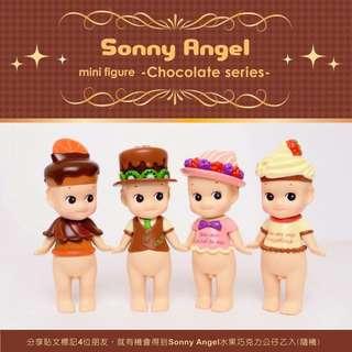 Sonny Angel 2016 水果巧克力公仔 限量