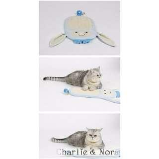【現貨】天然劍麻長耳兔兔造型貓抓板(含掛繩)