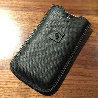 99%新Iphone5/5s Porter 手機精緻皮套(迷彩、格子)