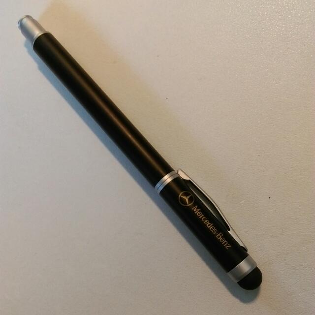 賓士官方觸控書寫兩用筆,讓您下筆行雲流水