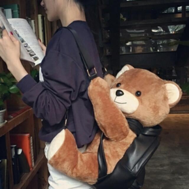 【預購】小熊後背包