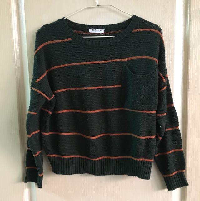 橫條紋毛衣