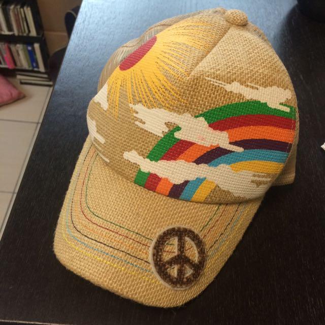 麻質棒球帽