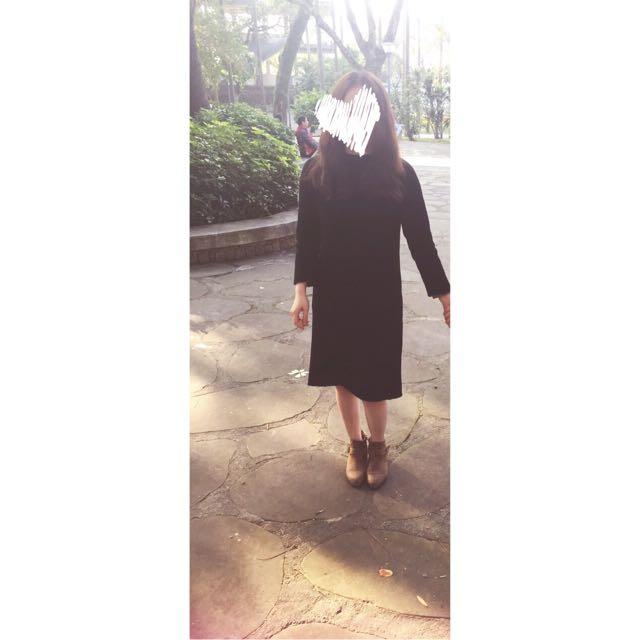 長版毛衣洋裝