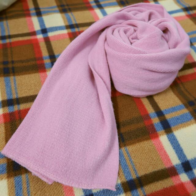(含運)仿羊絨圍巾