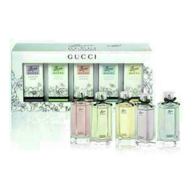 收收收 5ml GUCCI    花園香氛系列女性淡香水