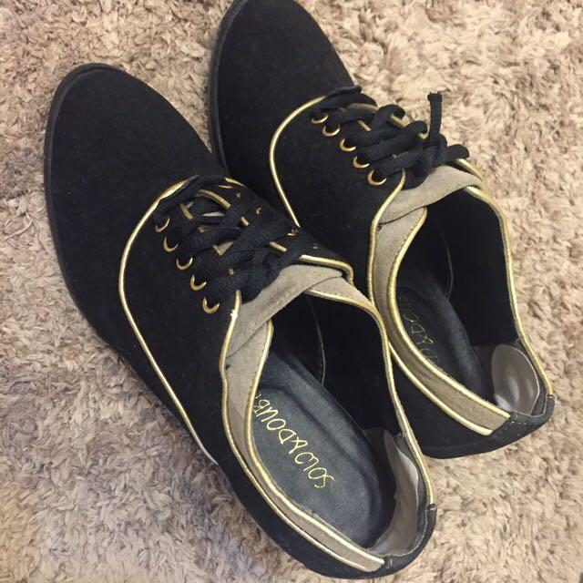 [出清品]專櫃女鞋 牛津高跟鞋 **直接賣了~200元含運吧**