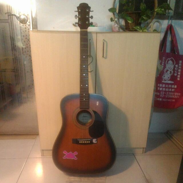 (待面交) (二手) 木吉他
