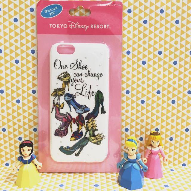 迪士尼 公主高跟鞋 手機殼 保護殼 iPhone 6/6s