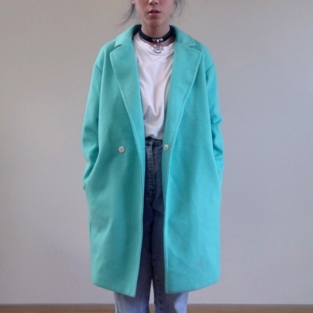 """Earl Grey"" (brand) - Teal Coat"