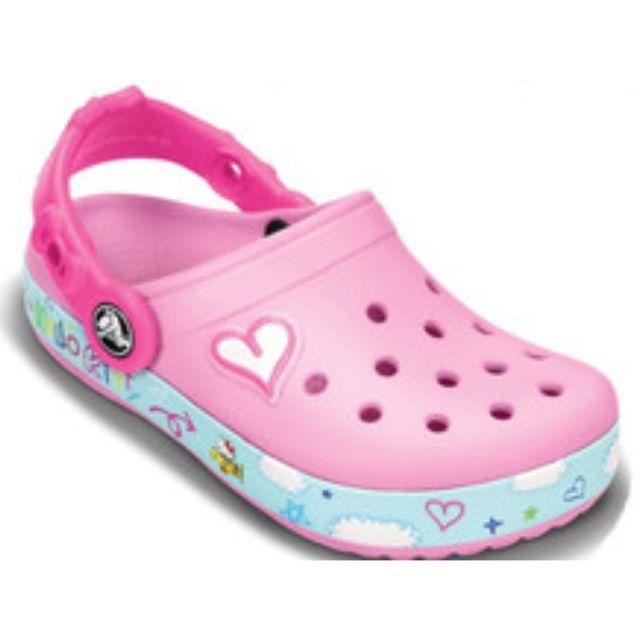 HOT DEMAND Crocs Kids Girls Hello Kitty