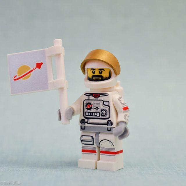 Lego Minifiguren Serie 1 LEGO Minifiguren LEGO Bau- & Konstruktionsspielzeug Astronaut
