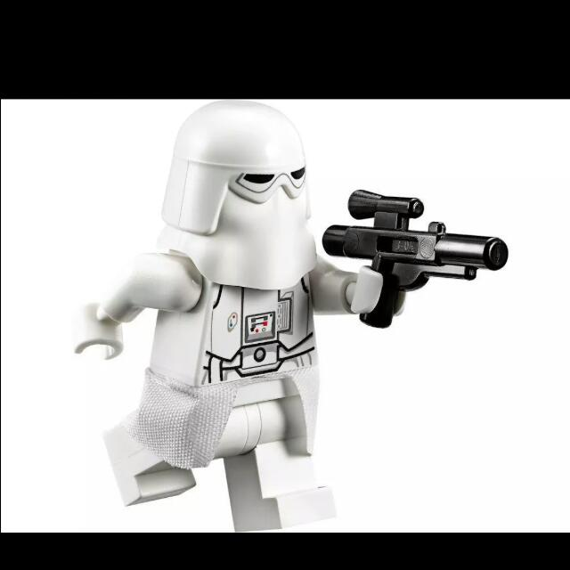 *NEW* Lego Minifig Star Wars SNOWTROOPER with Weapon