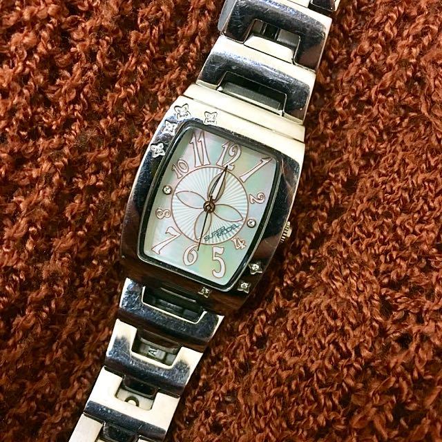 二手✨免運🎉LICORNE-Super Model系列 方型氣質女腕錶