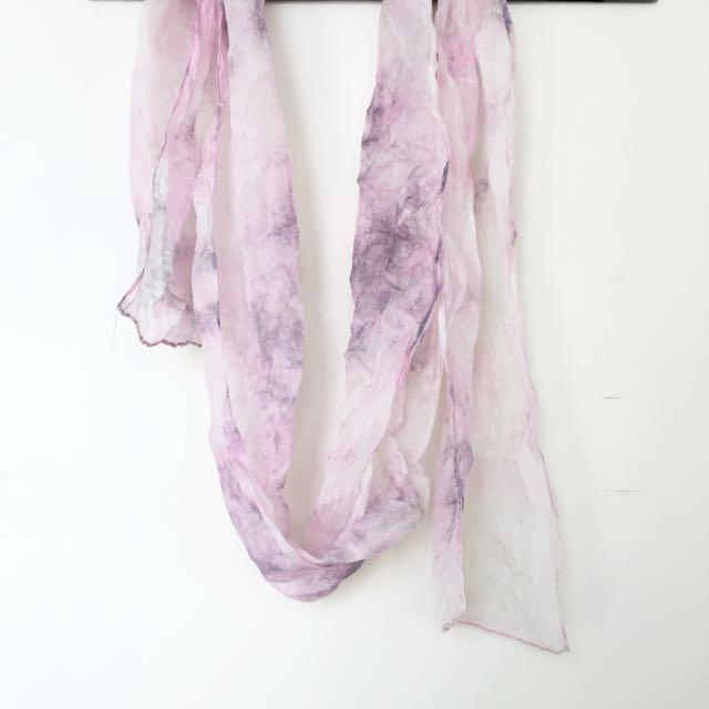 Light Pink/Purple Scarf