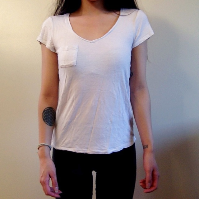 Miss Shop basic white tee