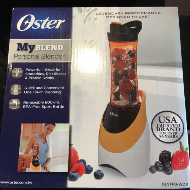 Oster 隨行杯果汁機(橘色)全新