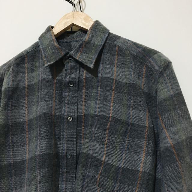 (待匯款)💛oversize Vintage 格子襯衫
