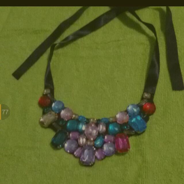 Sale 20% - Colourfull Stone Necklace