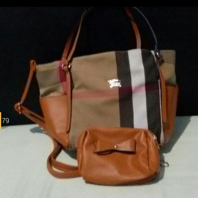 Sale 20% - Set Bag N Pouch