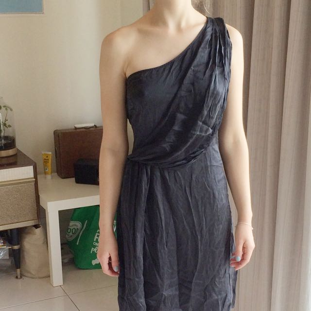Silk Dress Size 8-10 Vintage