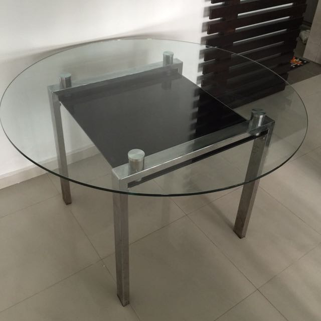 Tampered Glass Dining Table