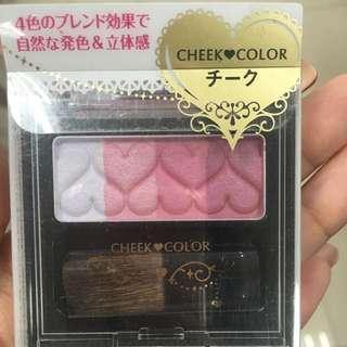 日本mfc 心型心燦漸層頰彩 腮紅 粉刷 打亮立體妝感