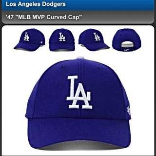 La Dodgers Cap 五分割帽