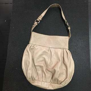 Leather 'pouch' Bag