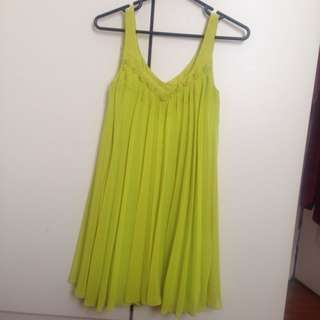 Brand New Fluro Dress From Cue