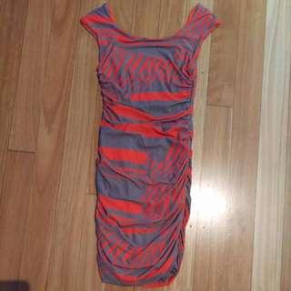 Kookai Scrunched Dress Sz 1
