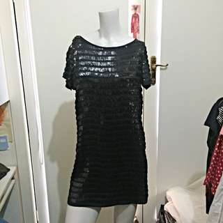 French Connection Sequinned Mini Dress