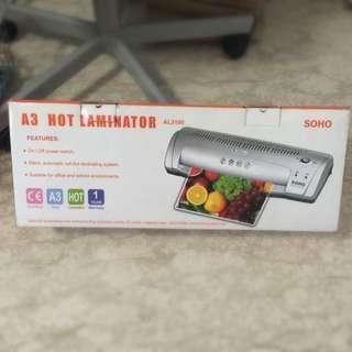 SOHO A3 Hot Laminator