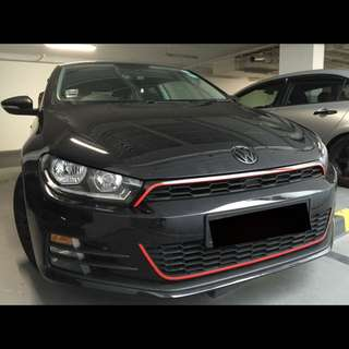 VW Scirocco Wrapped