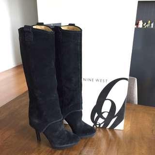 Nine West Suede Knee High Boots