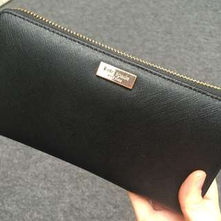 Authentic Kate Spade Wallet - black