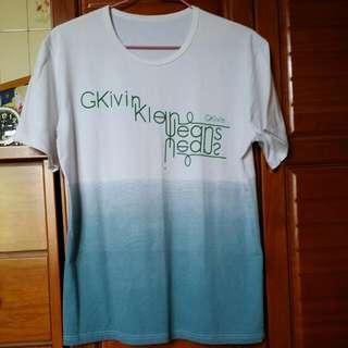 (降價出清)配色T恤