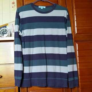 (降價出清)BaLeNo條紋長袖T恤