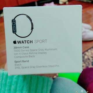 (全新未拆)Apple Iwatch Sport 太空灰