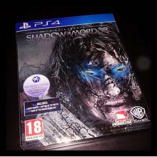 [Reserved] Shadow Of Mordor PS4