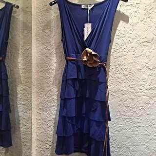 降!歐洲單色洋裝