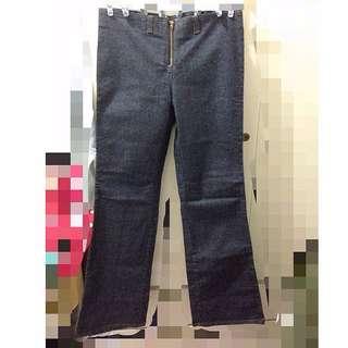 衣櫃出清-全新-韓國喇叭牛仔褲