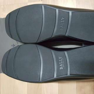 Bally Black Calf Leather Loafers