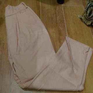 粉色老爺褲